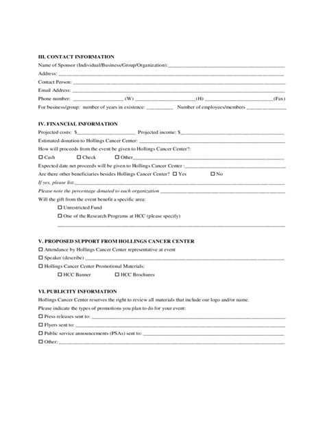 event proposal sle form free download