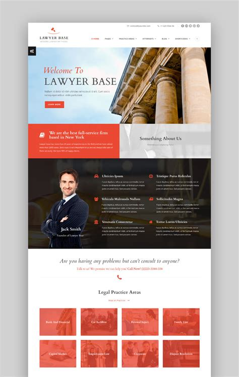themes wordpress lawyers 17 best lawyer wordpress themes for 2017 law firm