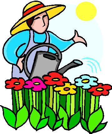 Gardening Clip by Writing Is Damental From Gwendolyn Hoff