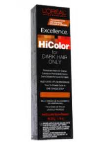 hi color using l oreal excellence hicolor permanent creme high lift