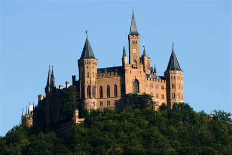 hohenzollern castle the height of neo architecture