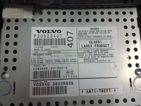 find volvo model year  vin mvs