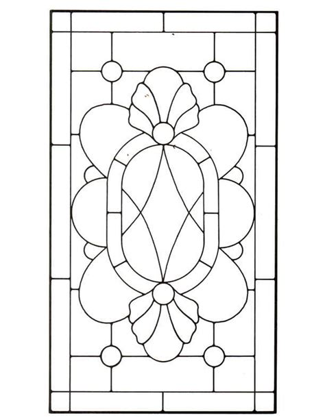 stained glass templates 45 simple stained glass patterns guide patterns