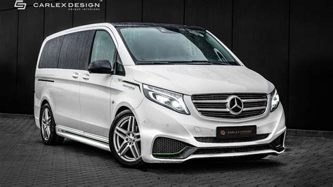 mercedes vito interior mercedes vito by carlex gets sporty exterior luxurious