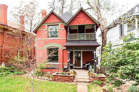 Queen Anne Style Homes by Brick Victorian In Denver Colorado Circa Old Houses