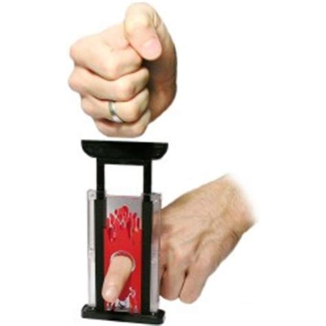 Finger Chooper stemaro magic zaubershop transparent finger chopper