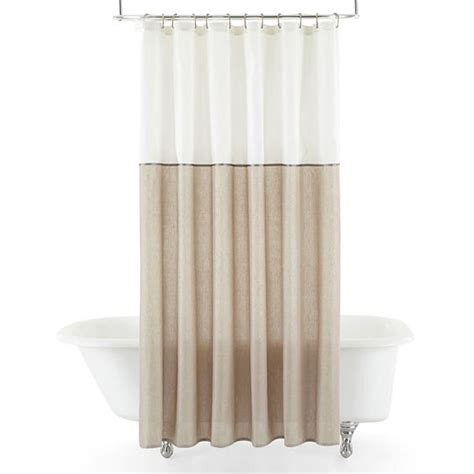 jcpenny shower curtains liz claiborne chessa shower curtain jcpenney bathrooms