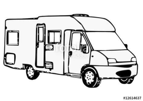 Quot Camping Car Profil 233 Quot Fichier Vectoriel Libre De Droits Coloriage Cars L