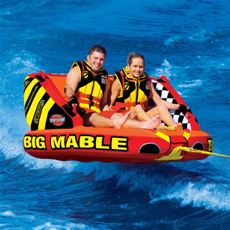ride boat zelda big mable inflatable double rider towable airhead