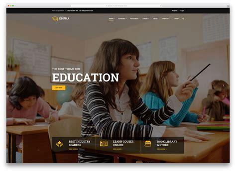 theme for education seminar 32 awesome responsive wordpress education themes 2018