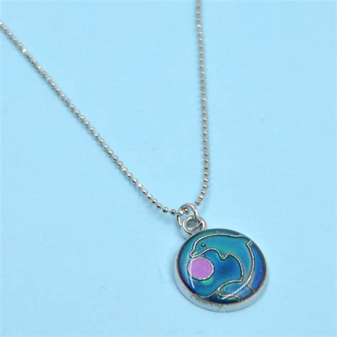 mood necklace colors animals mood necklace color changing emotion feeling