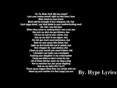 lyrics by xxxtentacion don t test me lyrics
