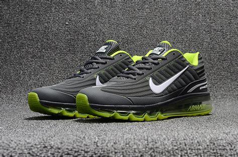 Nike Airmax 980 Series Running Grey new 2017 s nike air max 360 kpu running casual sports shoes light grey green 310908 014