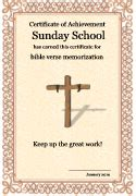 religious certificate templates sunday school printables christian coloring pages