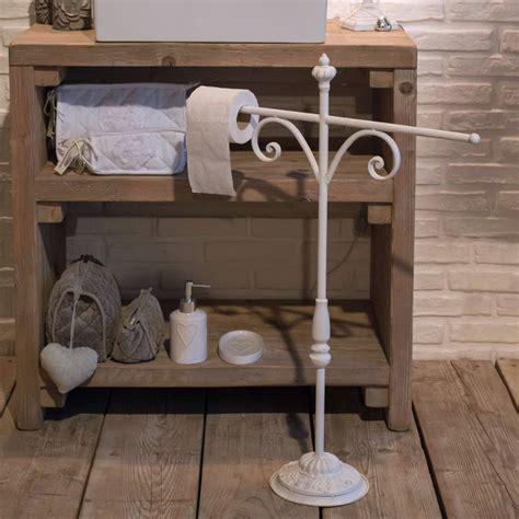 ladari in ferro battuto bianco porta asciugamano in ferro bianco etnico outlet mobili