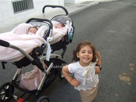 tablon de anuncios  carro gemelar casual play  fotos bebes