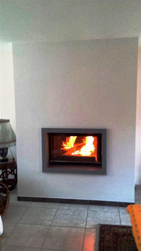 cheminee ceramique chemin 233 e ajaccio c 233 ramique gris brillant et foyer 844