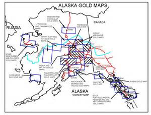 gold in map alaska gold maps alaska gold panning alaska gold prospecting