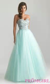 strapless ball gowns night moves princess prom dresses