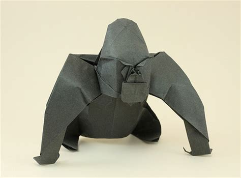 How To Make Origami Gorilla - origami animals