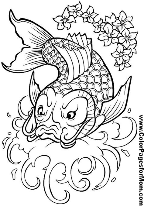 coloring pages for adults asian asian coloring page 16
