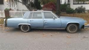 1982 Cadillac Sedan 1982 Cadillac Base Sedan 4 Door 4 1l Blue Classic