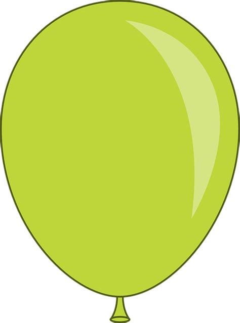 Free vector graphic balloon green circus floating free image on pixabay 150128