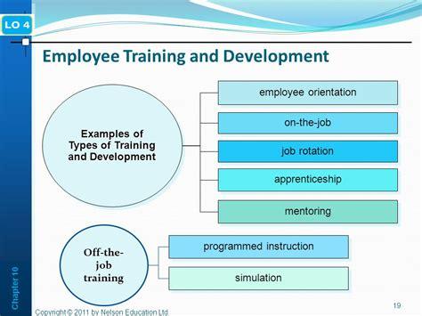 employee development exles of and development