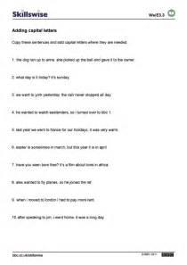 Ks2 Grammar And Punctuation Worksheets