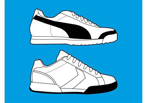 sport shoes vector sports shoes graphics free vector stock