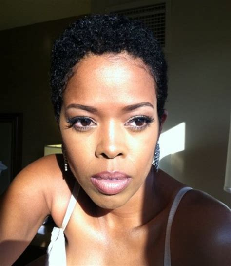 short hair styles worn by malinda williams malinda williams twa natural short tapered hair