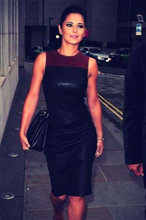 cheryl overall dress cheryl cole leather dress