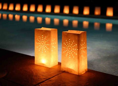 Paper Lanterns For Candles - diy garden lantern ideas that will the show