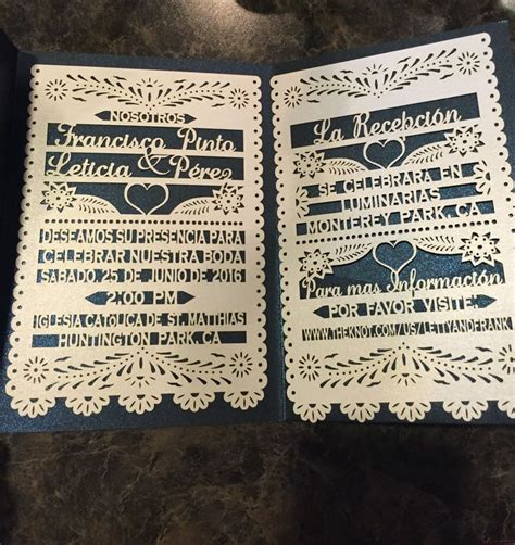 mexican themed quinceanera invitations our papel picado wedding invites finally arrived save