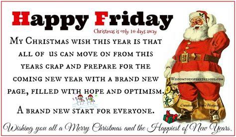 daveswordsofwisdomcom happy friday  christmas