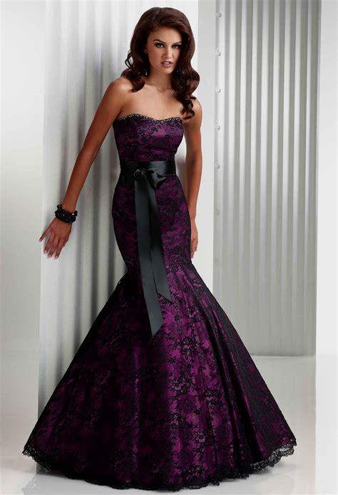 black and purple wedding dresses Naf Dresses