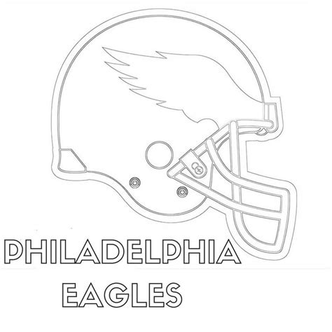 eagles coloring pages nfl delighted nfl eagles coloring pages gallery resume ideas