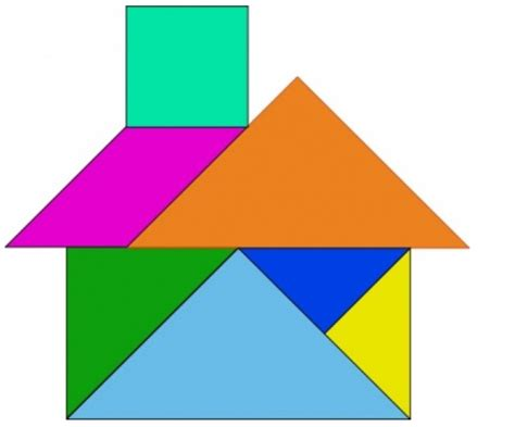 figuras geometricas que se deslizan figuras con tangram clipart best