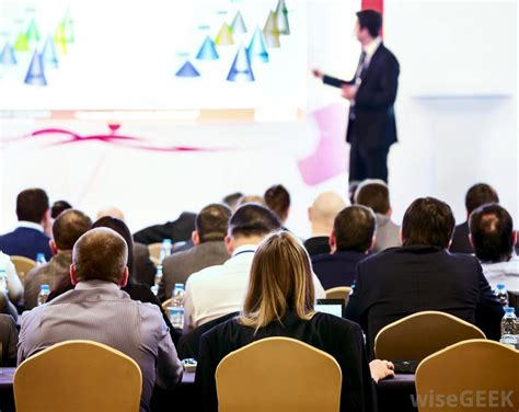 The Business Of Conferences what is slideshow presentation software with pictures