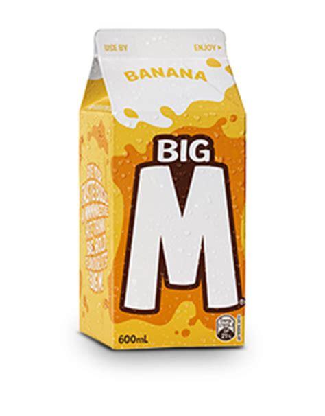 I M A Big flavoured milk