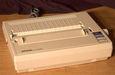 Printer Epson Lx 800 Baru epson lx 800 mobilaks