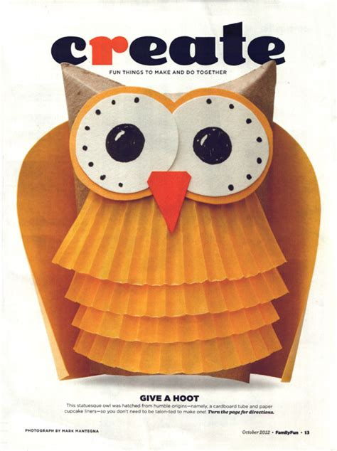 owl craft projects family magazine owl crafts