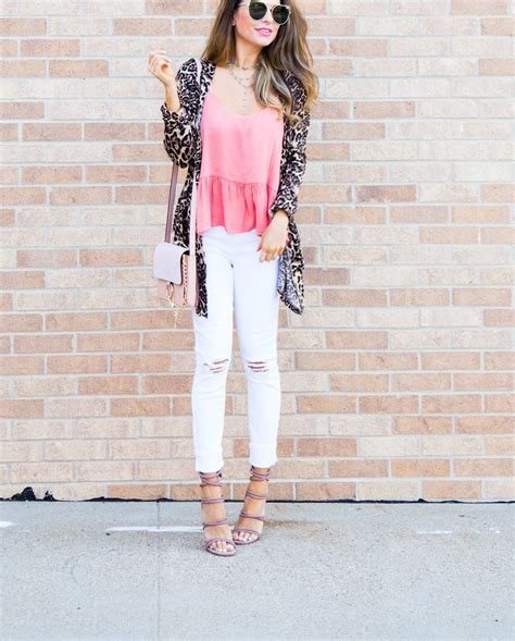 Promo Lea Vest leopard cardigan for 29 favorite white the launch of jess lea clothing line sabby