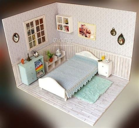 fashion doll quarterly coupon doll furniture blue bed room furniture accessories set 1