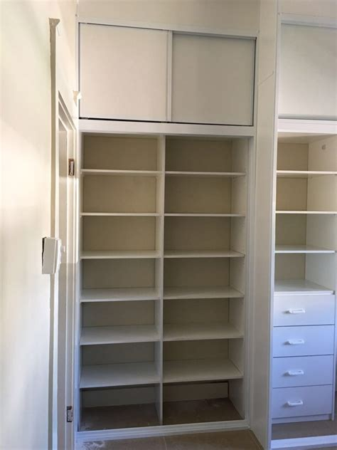 Built Wardrobes by Overhead Sliding Doors Fantastic Built In Wardrobes