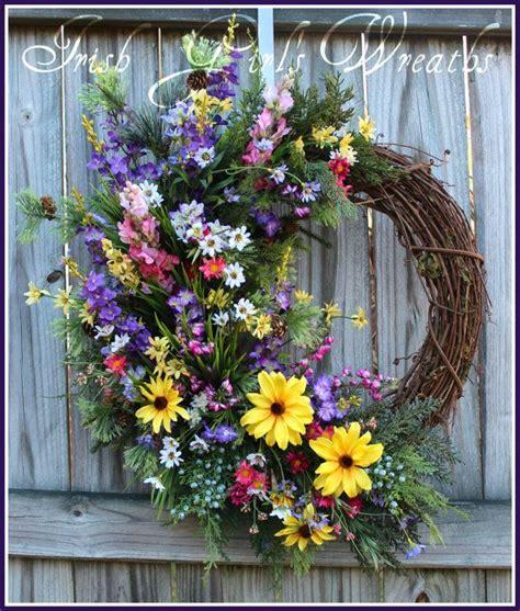 27 best wildflower bluebonnet wreaths and arrangements images on garlands