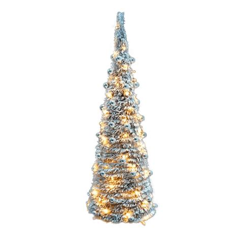 shop now for 5ft snow flocked pop up christmas tree with