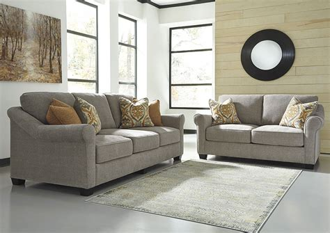Dogtown Furniture by W A Akins Sons Leola Slate Sofa And Loveseat
