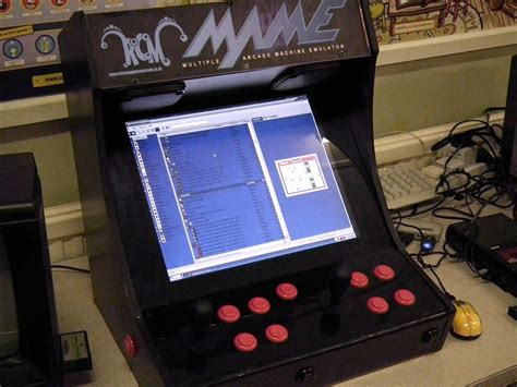 Bartop Mame Ideas For A Diy Mini Mini Mame Arcade Cabinet Stiggy
