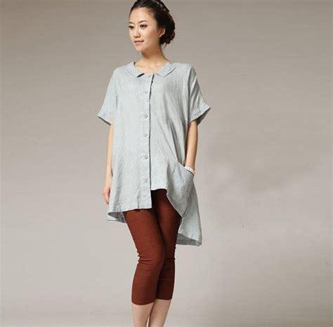 linen tops womens dresses womens blouseshort sleeves